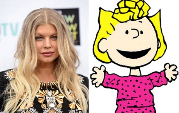 Fergie – Sally Brown in The Peanuts  | 21 Celebrities Who Voiced Your Favorite Cartoon Characters | Brain Berries