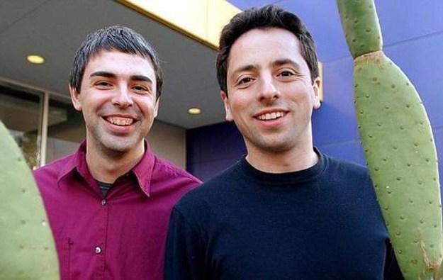Ларри Пэйдж и Сергей Брин, Google (1998) | 6 культовых компаний, созданных друзьями | Brain Berries