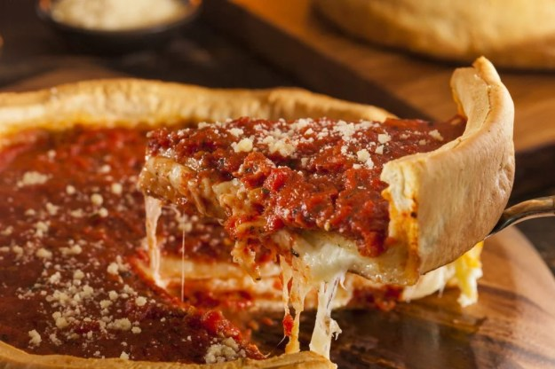 Chicago Deep Dish Pizza    10 Foods That Are Guaranteed To Make You Happy   Brain Berries