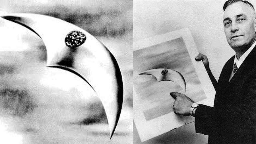 كينيث ارنولد |  8 من أشهر مشاهد الأجسام الطائرة المجهولة في التاريخ |  التوت الدماغ