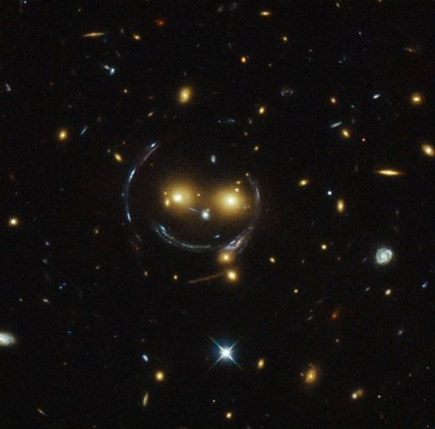 Smiley galaxy | 7 Weirdest Galaxies In The Universe | Brain Berries