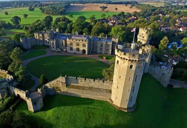 Warwick Castle, England | Top 9 Scariest Haunted Castles in Europe | Brain Berries