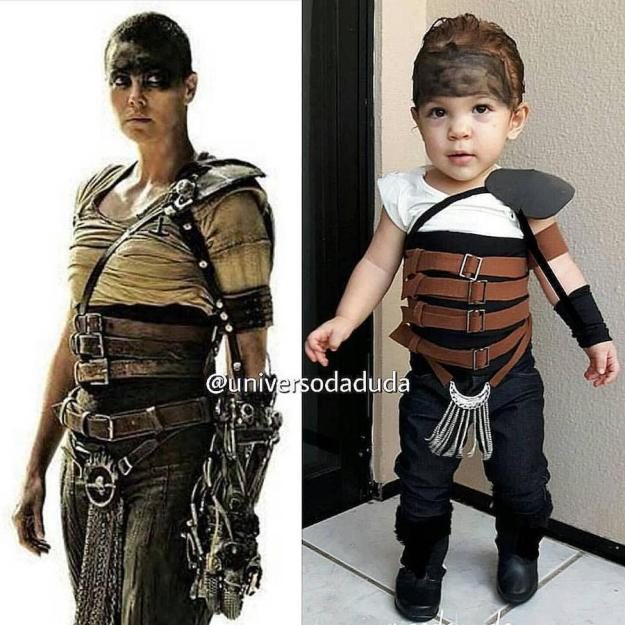 Little Imperator Furiosa | The Youngest Cosplayer You'll Be Jealous Of | Brain Berries