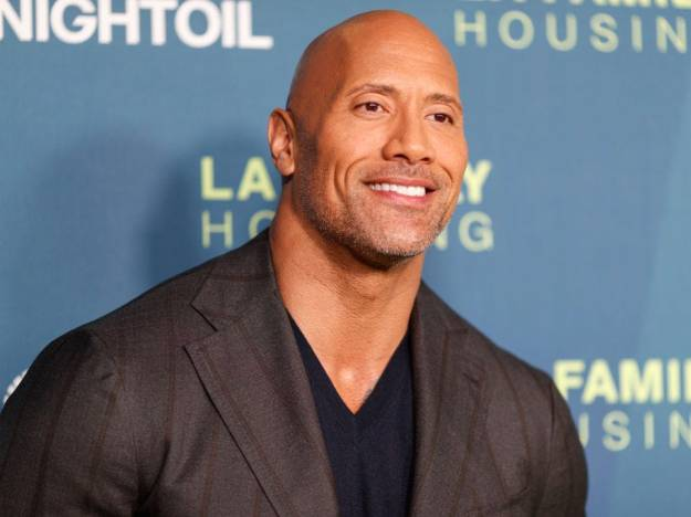Dwayne Johnson | The Best Bald Actors of Hollywood | Brain Berries