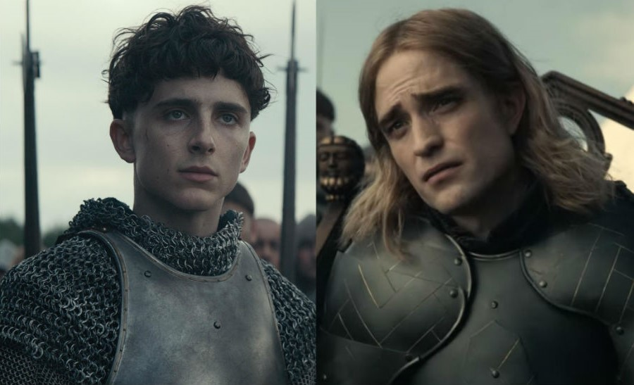 """Timothee Chalamet and Robert Pattinson in The Final Trailer of """"The King"""" 