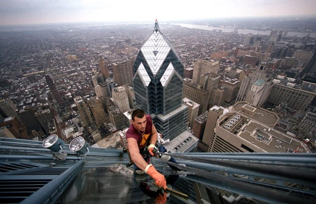 4. High-Rise Window Washers | Top 9 Most Dangerous Jobs in the World | Brain Berries