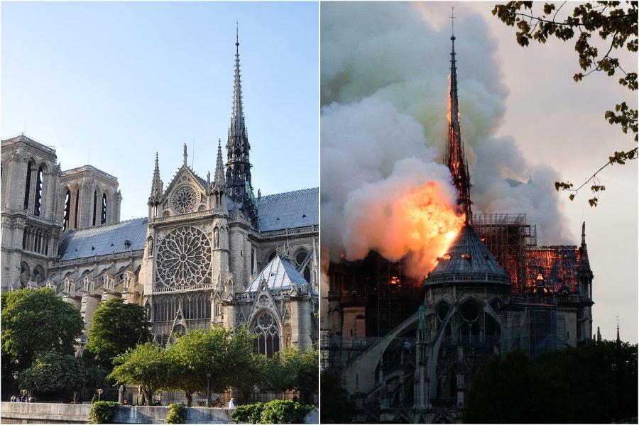 كاتدرائية نوتردام |  المعالم التاريخية التي فقدناها في السنوات الخمس الماضية |  برين بيري