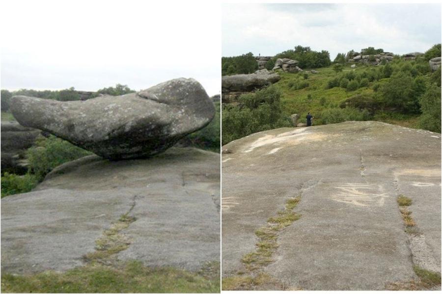 بريهام روكس ، شمال يوركشاير ، إنجلترا |  المعالم التاريخية التي فقدناها في السنوات الخمس الماضية |  برين بيري