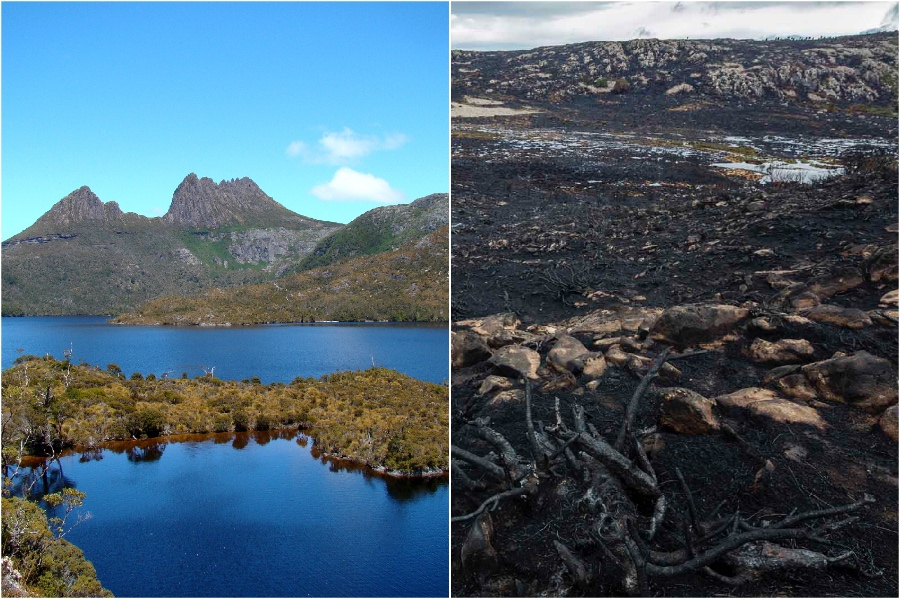 بحيرة ماكنزي ، تسمانيا ، أستراليا |  المعالم التاريخية التي فقدناها في السنوات الخمس الماضية |  برين بيري