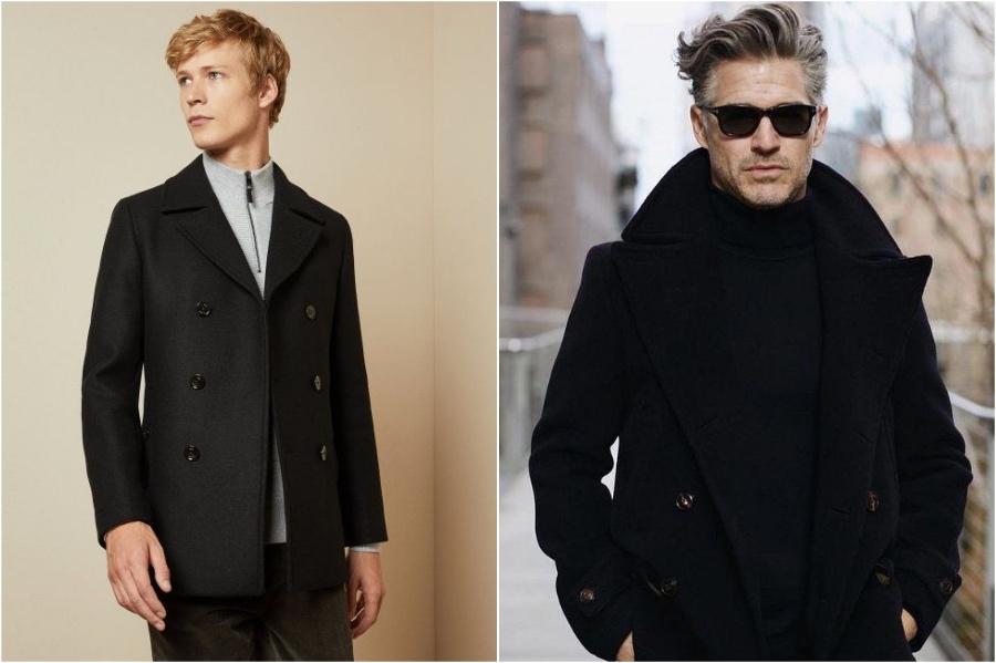 Men Pea Coat