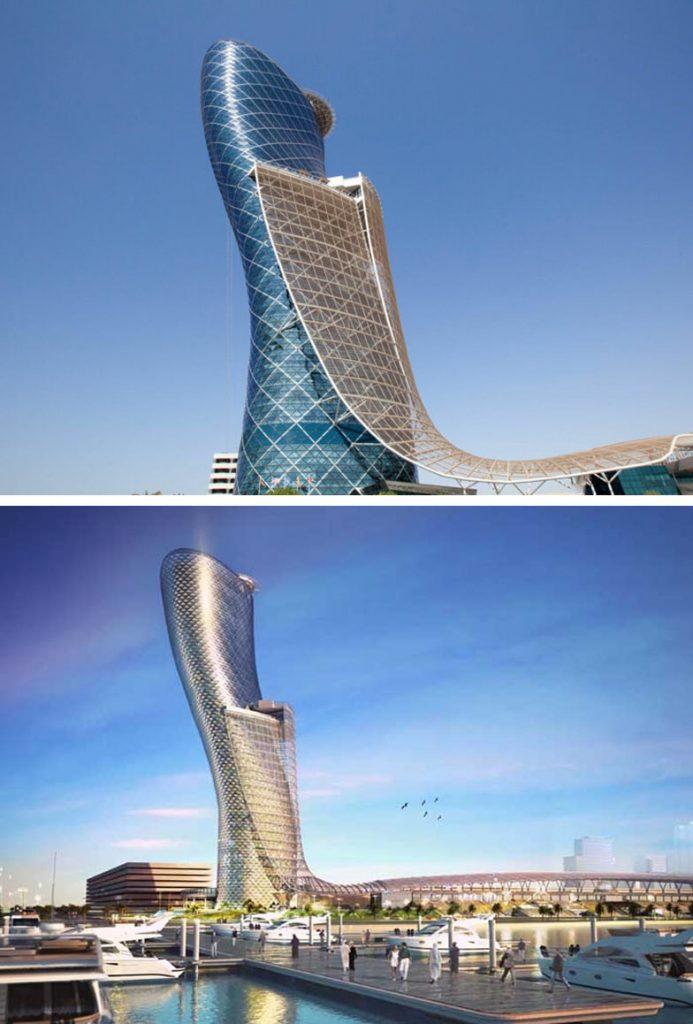 Porta e Kapitalit (Abu Dhabi, Emiratet e Bashkuara Arabe) |  8 ndërtesa të pabesueshme që duken si diçka nga një univers paralel |  Zestradar