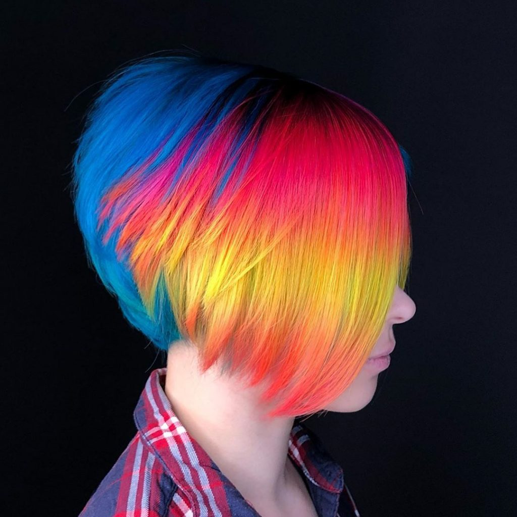 Super-Expressive Rainbow Hairstyles By Snegga #2 | Brain Berries