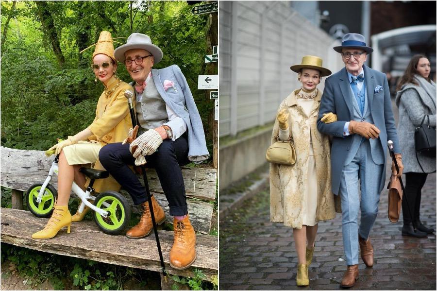 #2 | Elderly German Couple Whose Fashion Style Is Pure Fire | Zestradar