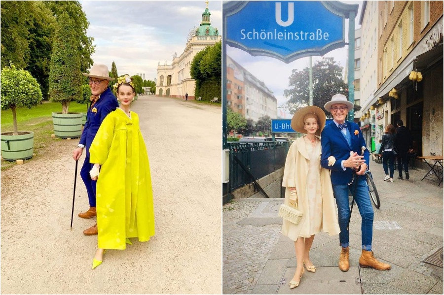 #4 | Elderly German Couple Whose Fashion Style Is Pure Fire | Zestradar