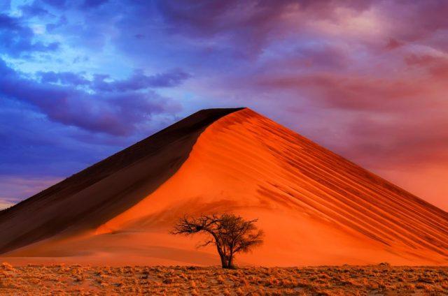 منتزه ناميب نوكلوفت الوطني (ناميبيا) | 10 من أفضل أماكن غروب الشمس في العالم | زيسترادار