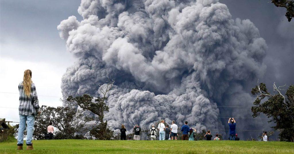 Vullkani Kilauea |  8 vullkane potencialisht të rrezikshëm që mund të përshkruajnë katastrofë |  Zestradar