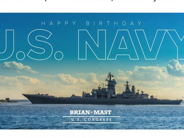 US конгресмен поздрави флота с... руски боен кораб | Dnes ...