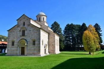 世界遺産ヴィソキ・デチャニ修道院