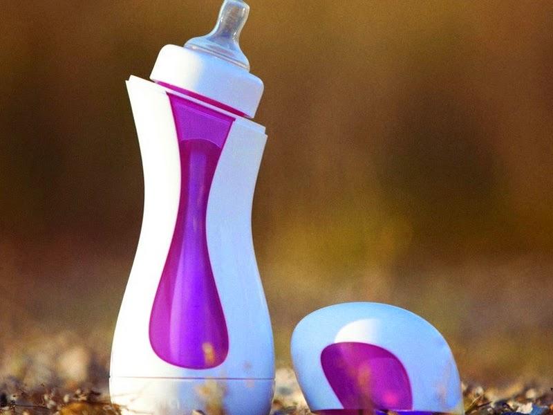 9. Self-warming feeding bottle