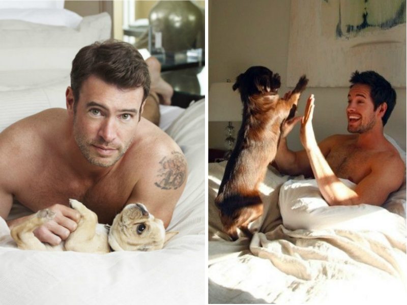 Can't Help But Press 'Like' For - Lambers, Twee, And Cute Guys With Pups