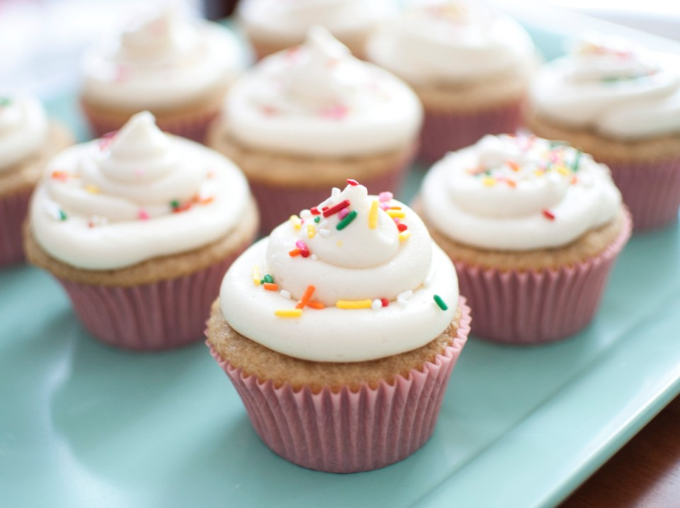 5.Vegan Cupcakes