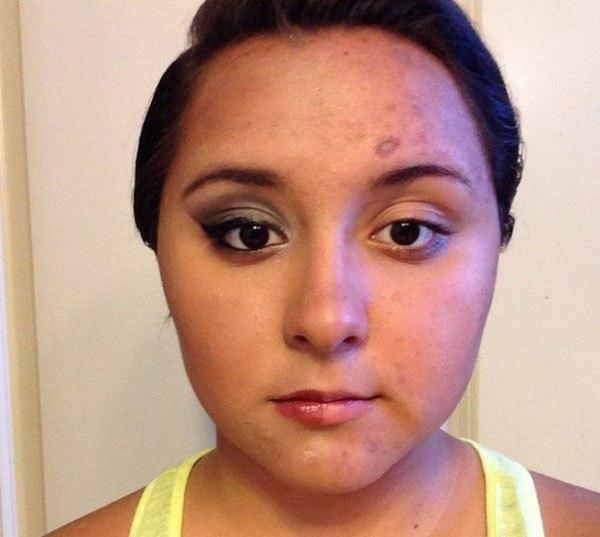 Half Face Makeup Challenge 7