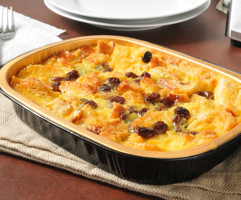 14 Roasted Parsnip Bread Pudding