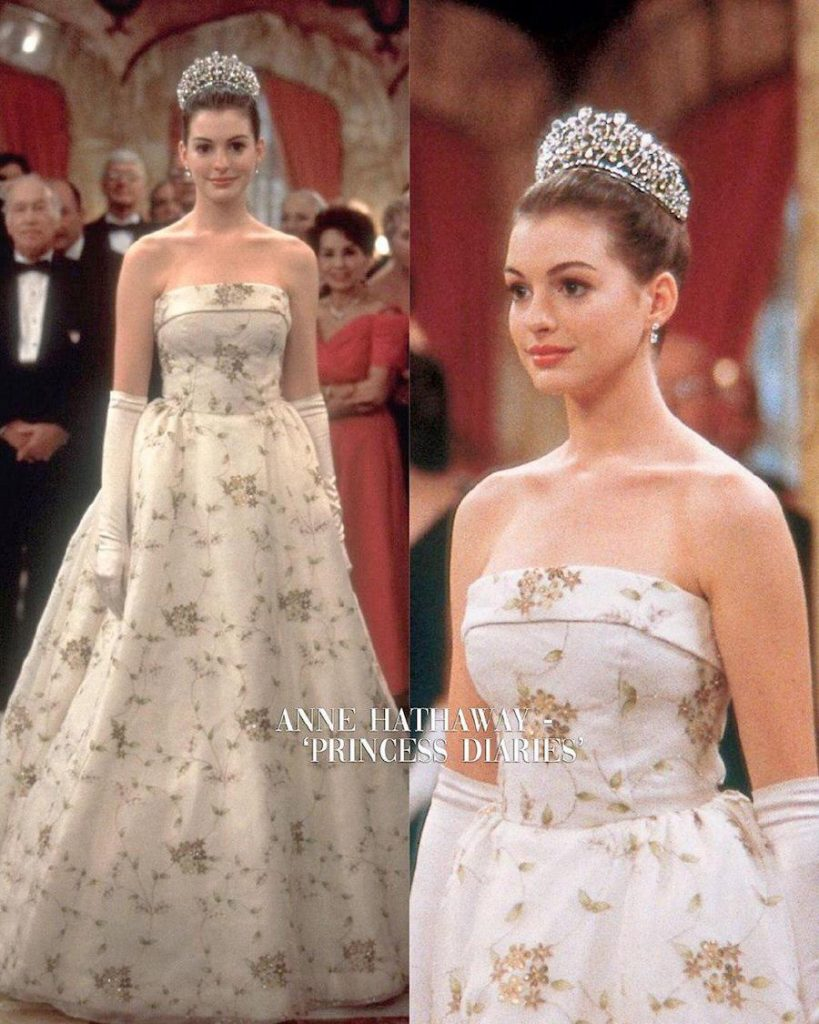 Anne Hathaway – Princess Diaries | 15 Iconic Movie Dresses You Wish You Could Wear | HerBeauty