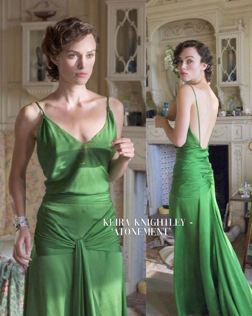 Keira Knightly – Atonement | 15 Iconic Movie Dresses You Wish You Could Wear | HerBeauty