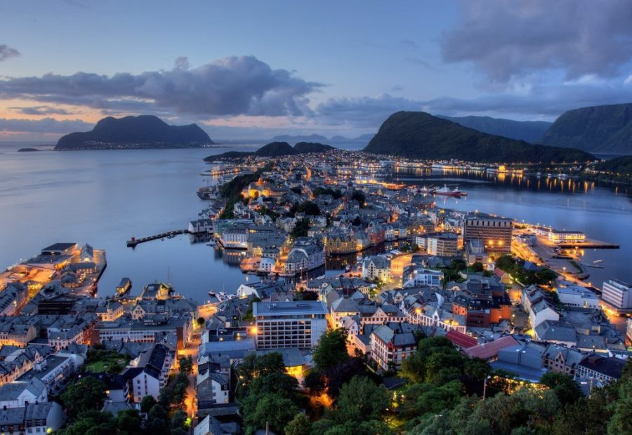 Ålesund, Norway | 8 White Night Countries to Visit | Her Beauty