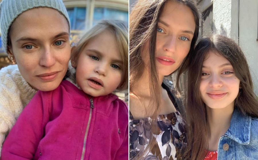 Бьянка Балти с дочерями Матильдой и Мией | Her Beauty