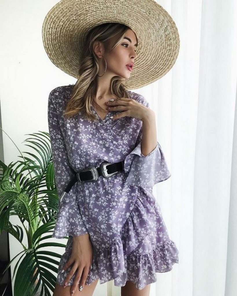 Кокетливые воланы   Летнее платье   Her Beauty