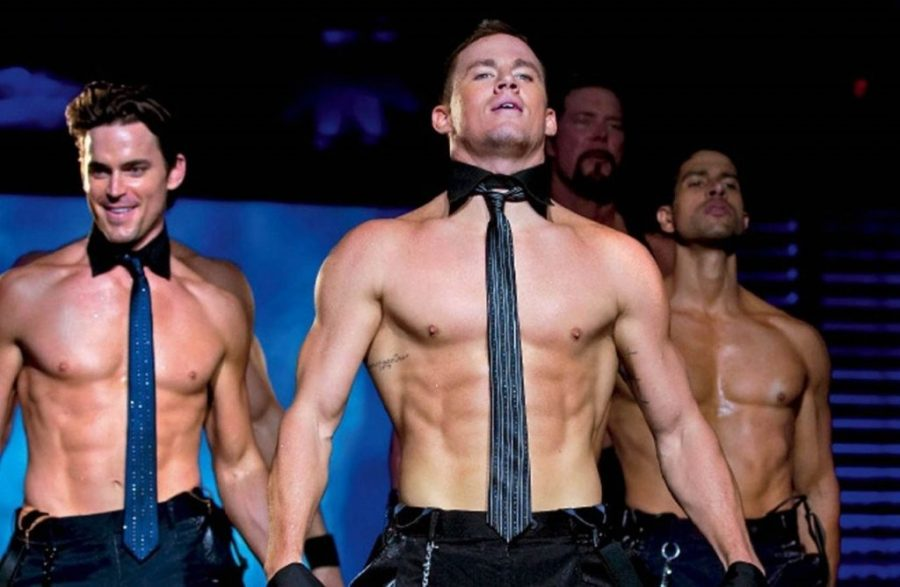 Channing Tatum filming Magic Mike   10 Facts That Will Make You Fall In Love With Channing Tatum Her Beauty