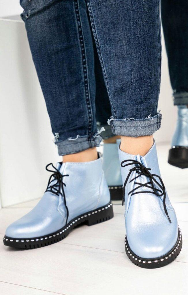 Ботинки на шнуровке | 6 пар обуви, которые тебе действительно нужны этой осенью | Her Beauty