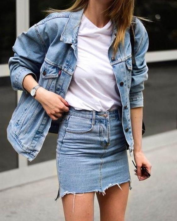 Denim jackets | 7 Wardrobe Staples You'll Wear ALL of 2019 | Her Beauty