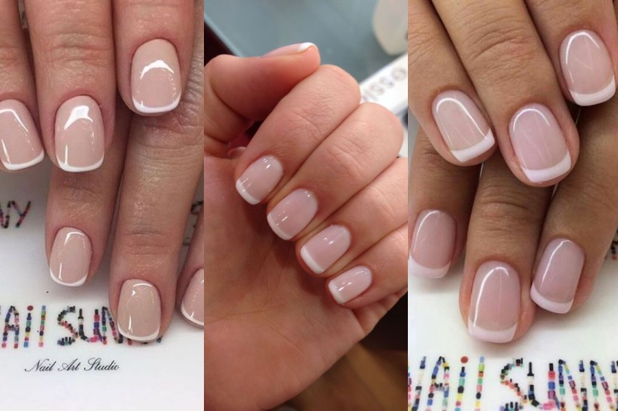 French Manicure For Short Nails | 8 Fresh French Manicure Design Ideas | Her Beauty