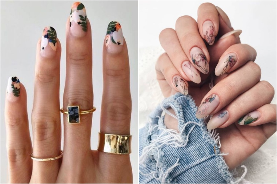 Almond   Nail Shapes And What They Say About You   Her Beauty