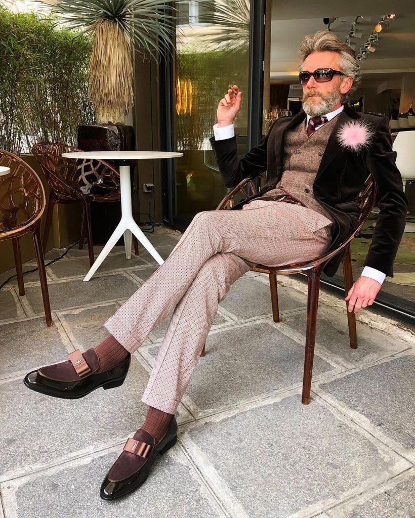 Стиль Пьерика Матона #10   12 фирменных луков стильного француза Пьерика Матона   Her Beauty