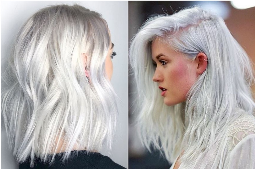 Platinum Silver Hair   How To Get Silver Hair: The Ultimate Guide to Dyeing Your Hair Her Beauty