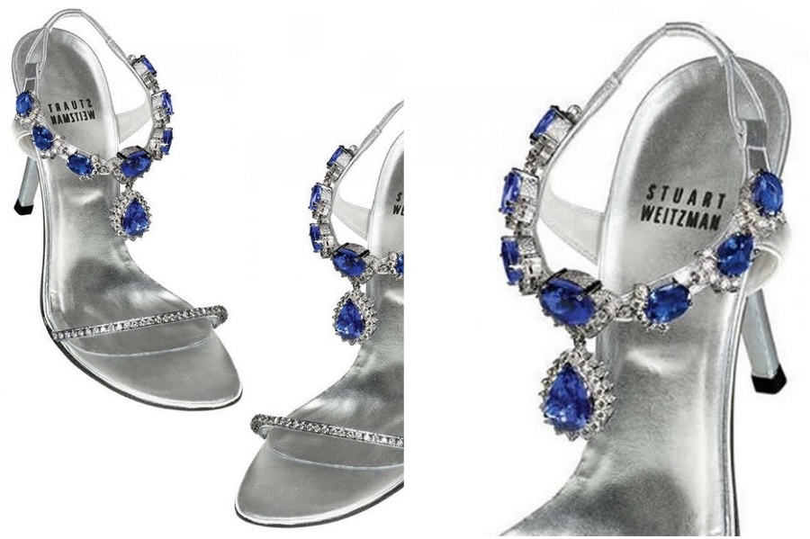 Stuart Weitzman Tanzanite Heels – $2 Million | 9 Most Expensive Pairs Of Shoes Ever | Her Beauty
