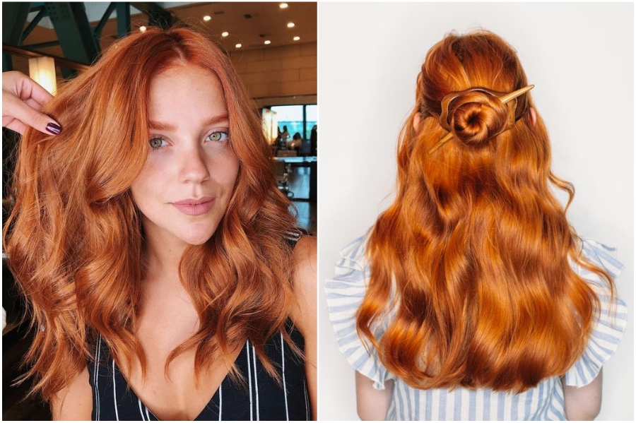 Warm Ginger | 15 Trendy Red Hair Ideas To Try | Her Beauty