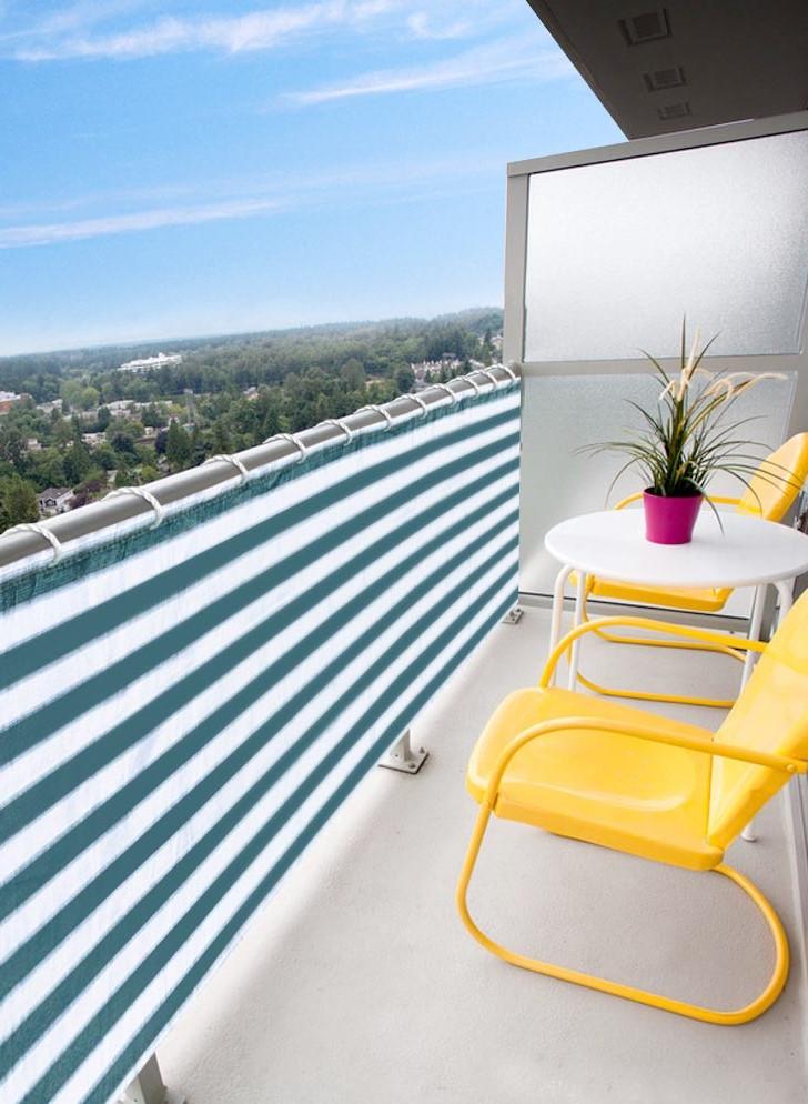 Privacy screen Balcony | 10 Cozy Balcony Ideas | Her Beauty