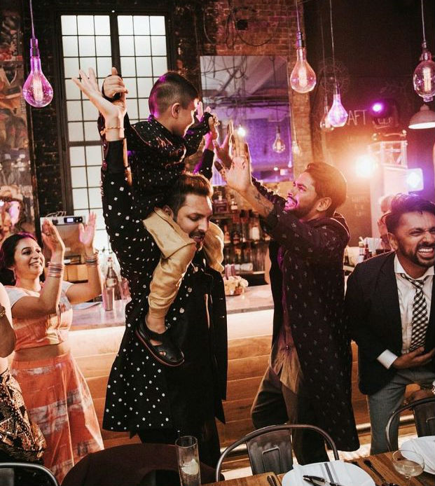 Gay Couple Immortalizes Gorgeous Traditional Indian Wedding #9 | Her Beauty