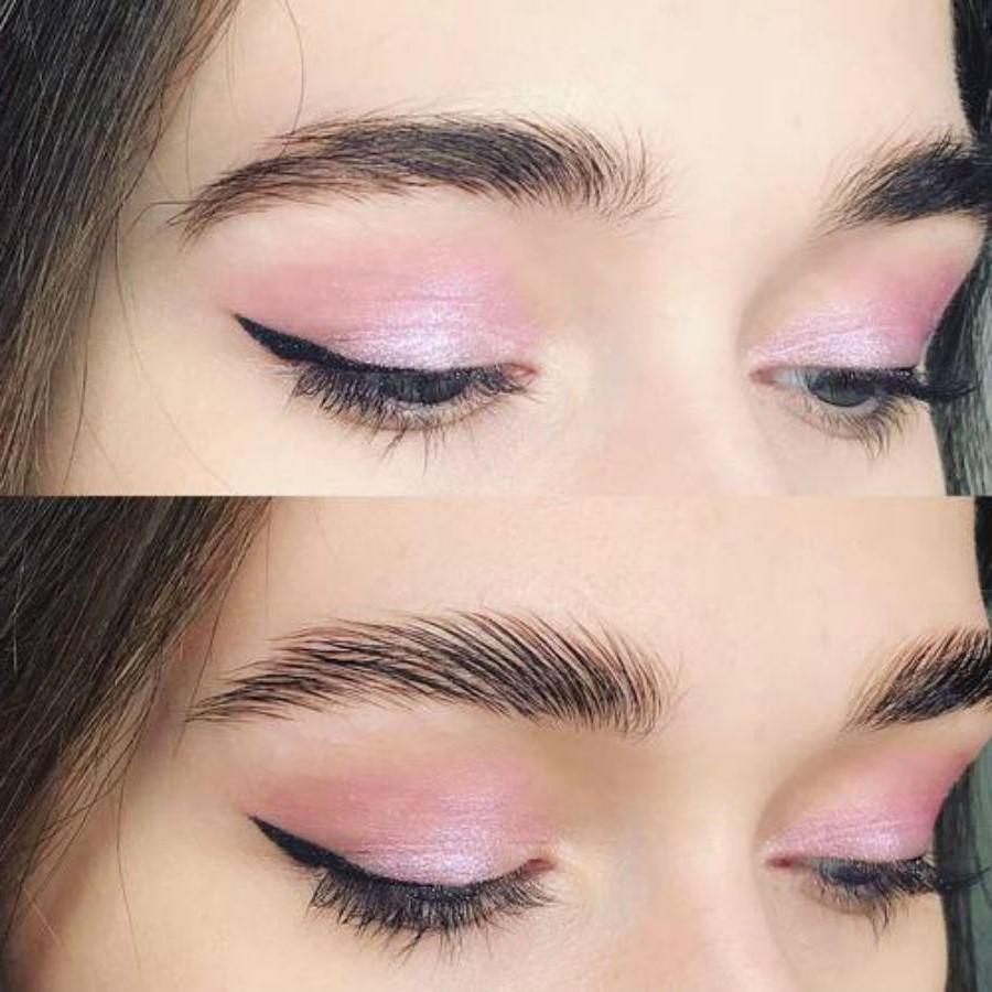Прозрачный гель | Как красить брови, чтобы они выглядели естественно | Her Beauty