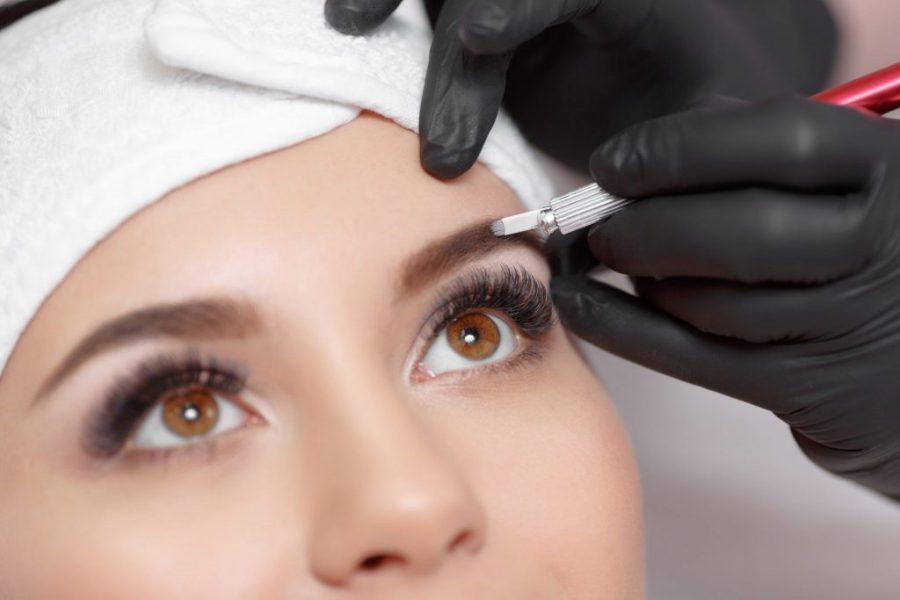 Коррекция перманентного макияжа | Перманентный макияж бровей: плюсы, минусы и основные виды | Her Beauty