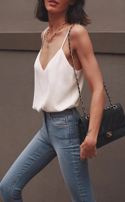 Silk camisole | 7 Wardrobe Staples You'll Wear ALL of 2019 | Her Beauty