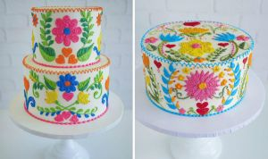 Embroidery Cakes byLeslie Vigil Will Bring You joy | Her Beauty