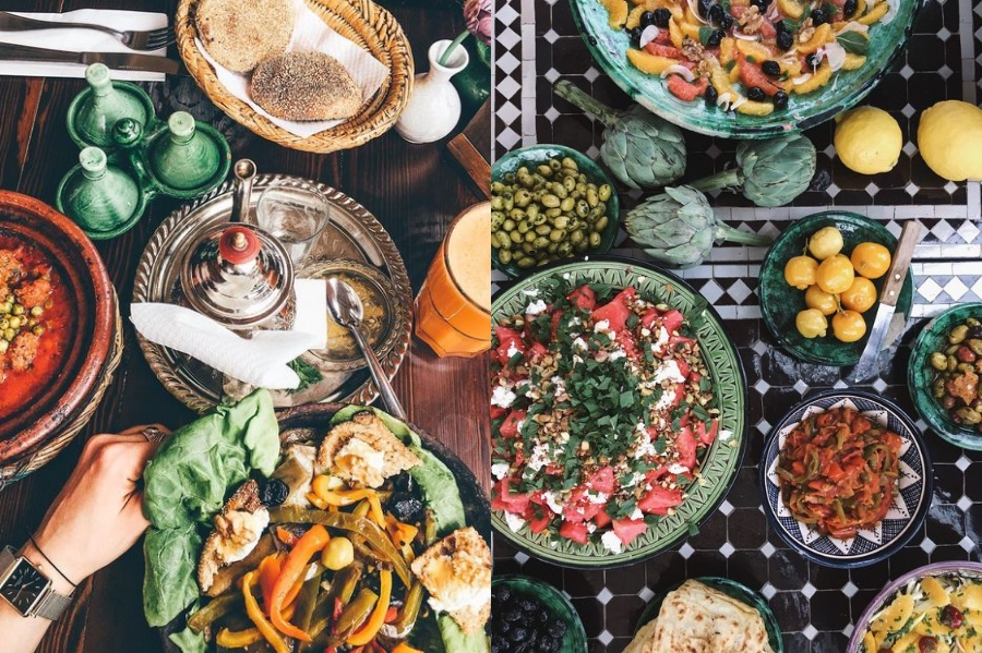 Moroccan Food | 8 Reasons Why You Should Visit Morocco | Her Beauty