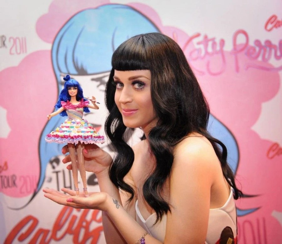 A Barbie doll | 15 Interesting Katy Perry Facts You Never Knew | Her Beauty