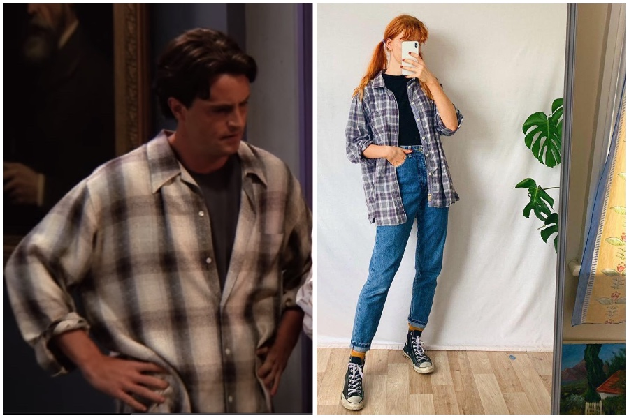 The One With The Butt | Want To Dress Like Chandler For a Week? | Her Beauty